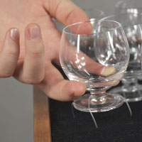 Easy Installation glass harp